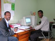 Preparing HIV/AIDS programs for SIM-Ethiopia Radio in the Gurage and Amharic languages. Click here to read more.